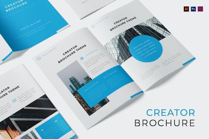 Thumbnail for Creator Theme Brochure