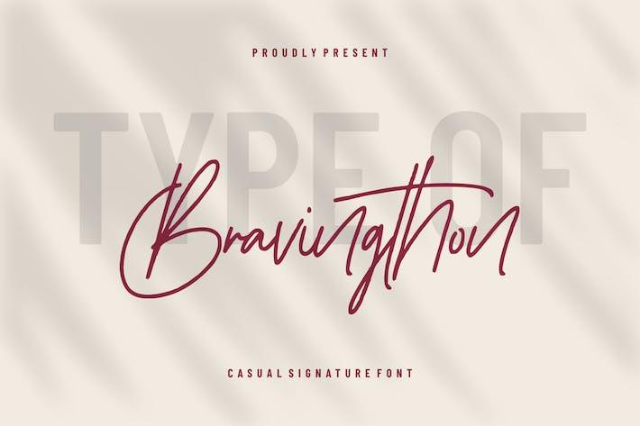 Thumbnail for Bravingthon | Casual Signature
