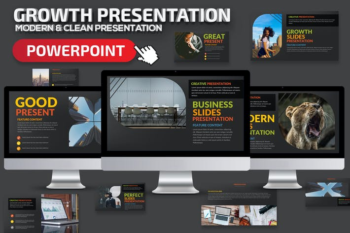 Thumbnail for Growth Powerpoint Presentation Template