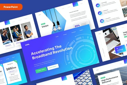 LINK - Technology and Gadget Powerpoint Template