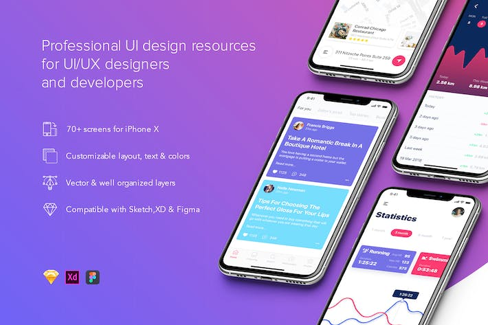 Thumbnail for Prisma mobile UI Kit - FIGMA Version