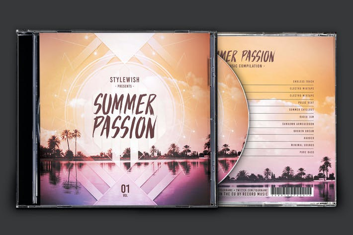 Thumbnail for Summer Passion CD Cover Artwork