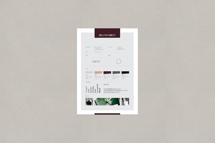Thumbnail for Grete Brand Sheet