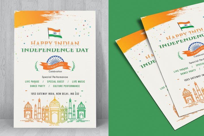 Indian Independence Day Flyer-03