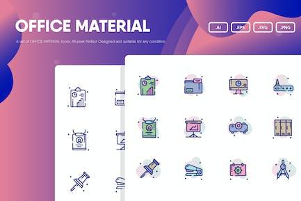 Büro-Material-Icon-P