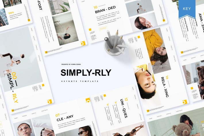 Thumbnail for Simplrly | Keynote Template