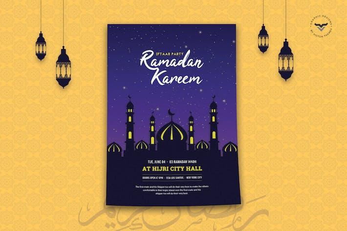 Thumbnail for Ramadan Flyer Template