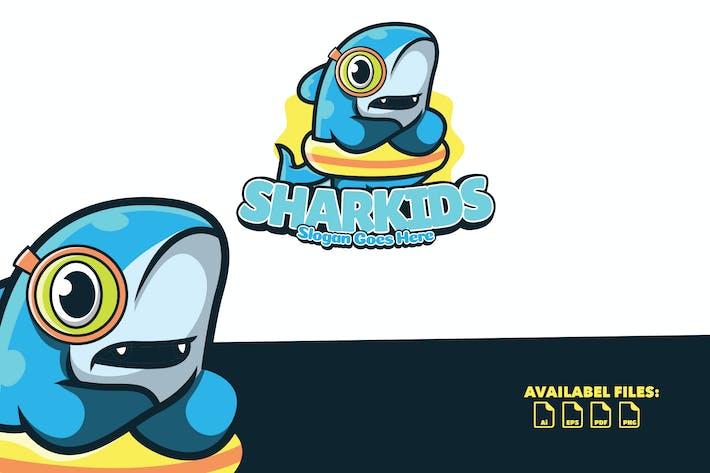 Thumbnail for Sharkids - Logo Mascot