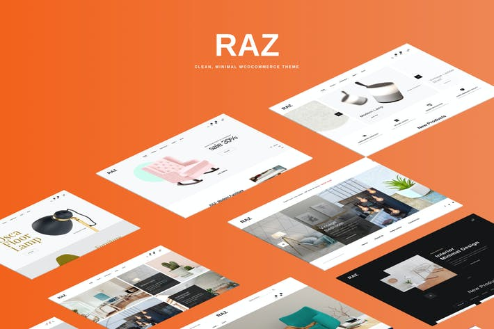 Thumbnail for Raz - Clean, Minimal WooCommerce Theme