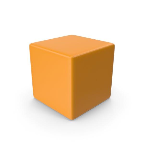 Оранжевый куб