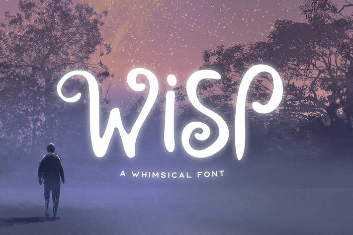 Thumbnail for Wisp Typeface