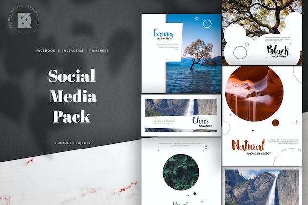 Natural Social Media Pack