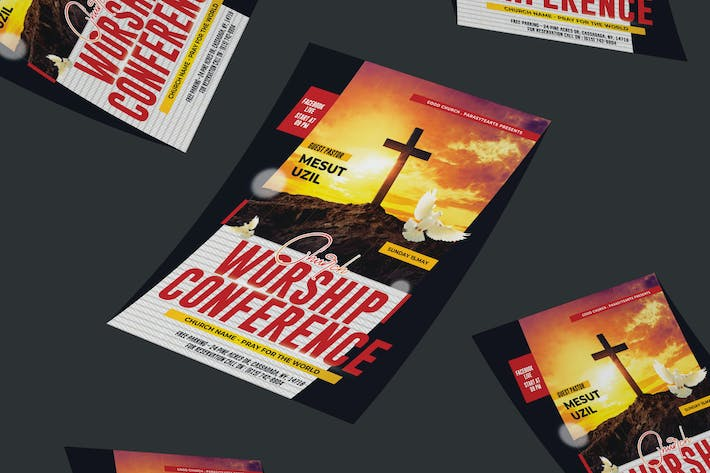 Thumbnail for Church Conference Flyer