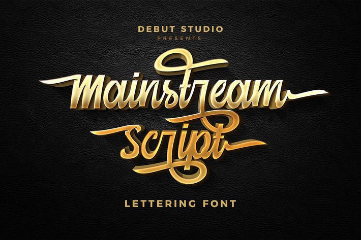Thumbnail for Mainstream Script