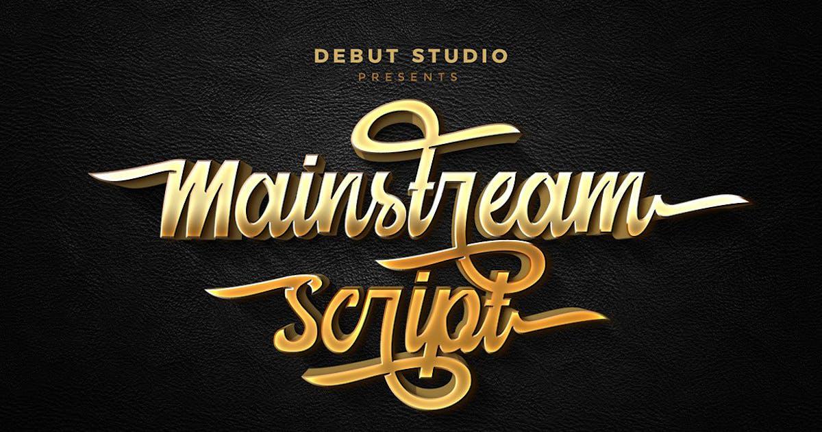 Download Mainstream Script by DebutStudio