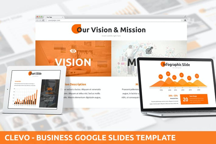 Thumbnail for Clevo - Business Google Slides Template