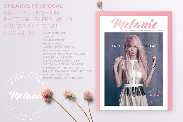 Thumbnail for Melanie - Creative Proposal
