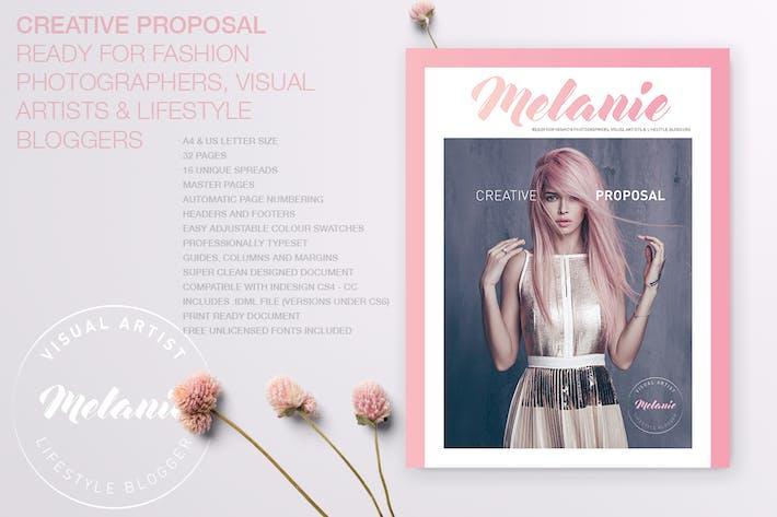 Thumbnail for Mélanie - Proposition créative