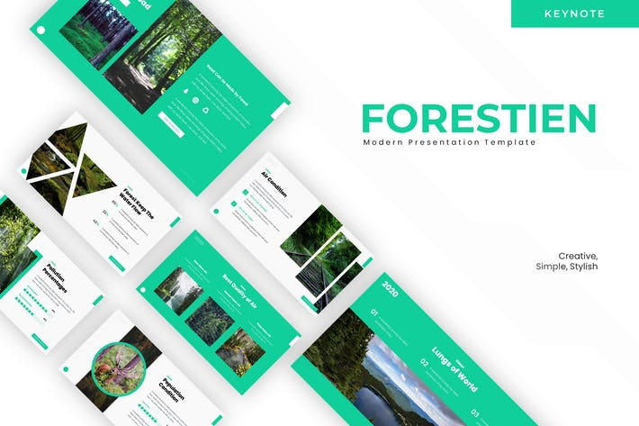 Thumbnail for Forestien - Keynote Template