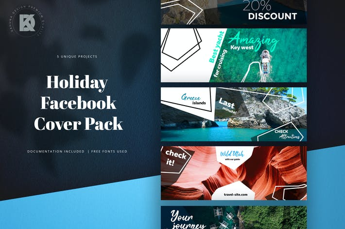Thumbnail for Facebook Holiday Social Media Pack