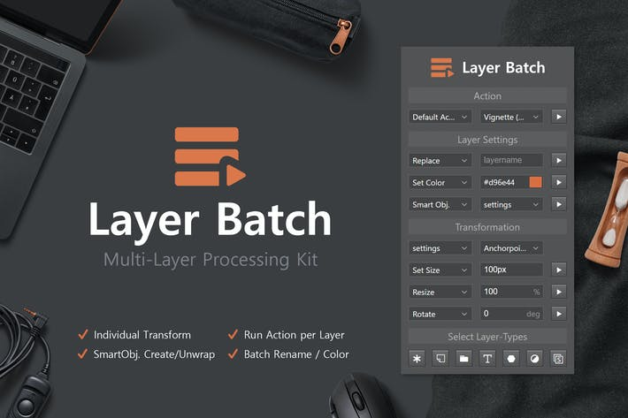 Thumbnail for Layer Batch - Processing Kit