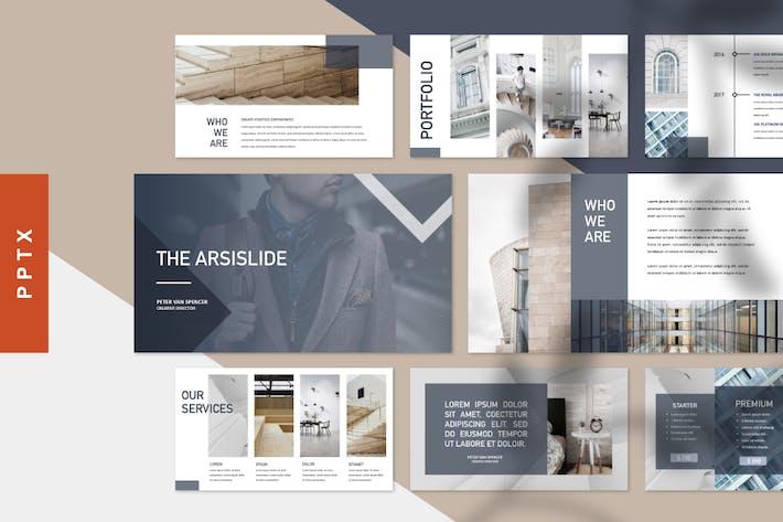 Thumbnail for The Arsislide -  Multipurpose Powerpoint Template