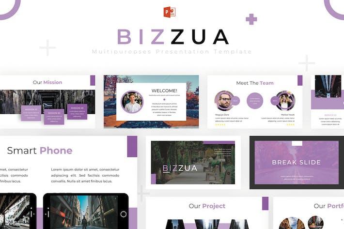 Thumbnail for Bizzua - Powerpoint Template