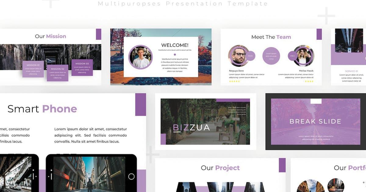 Download Bizzua - Powerpoint Template by SlideFactory
