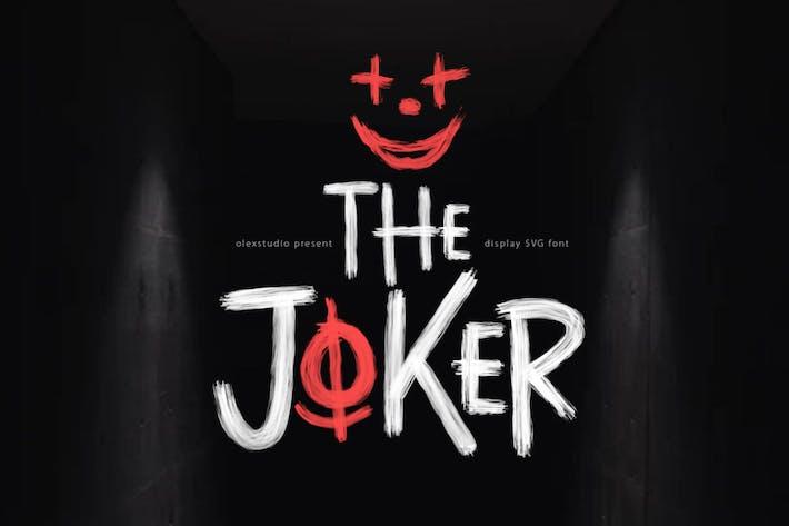 Thumbnail for LE JOKER - Police d'affichage