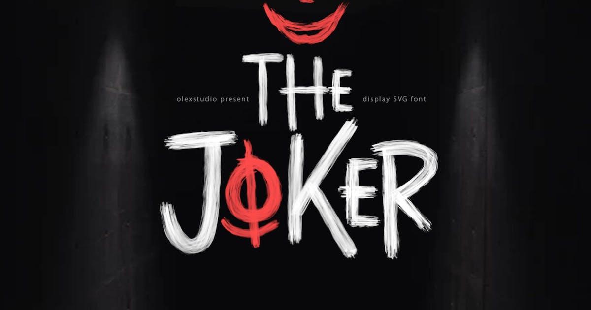 Download THE JOKER - Display Font by Olexstudio