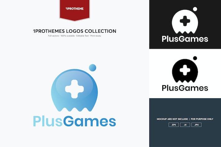 Thumbnail for Plus Games Logo Template
