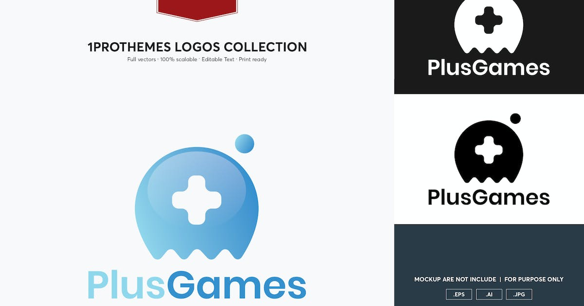 Download Plus Games Logo Template by 1protheme