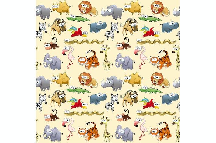Thumbnail for Savannah Animals Background