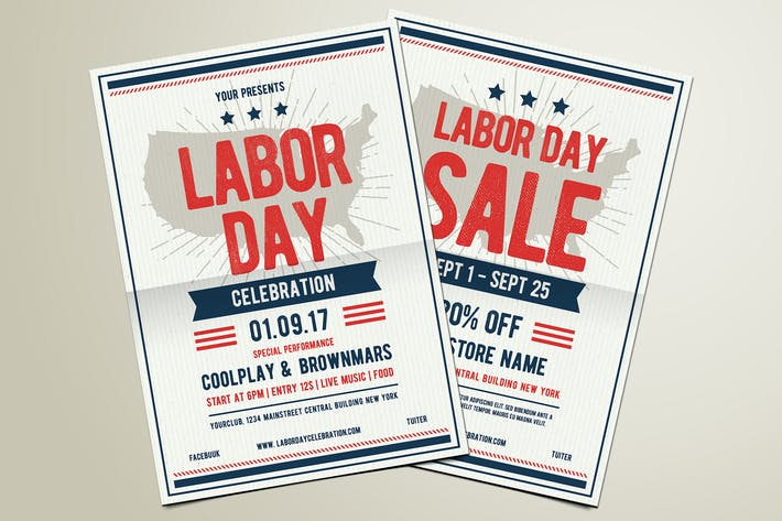 Thumbnail for Labor Day Celebration & Sale Flyer