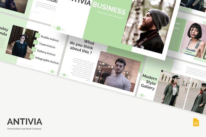 Thumbnail for Antivia - Google Slides Template