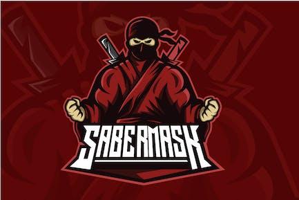Sabermask - Esport Logo