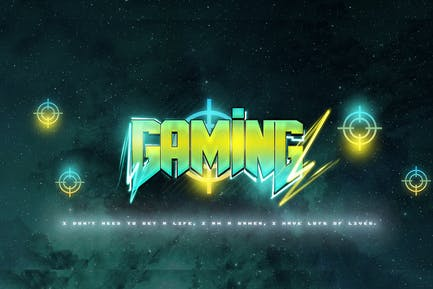 Gaming Text Effect 2nd