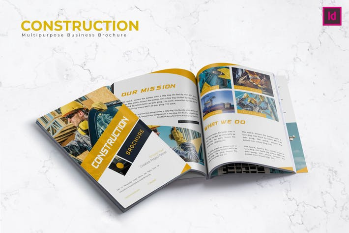 Thumbnail for Construction Brochure Template