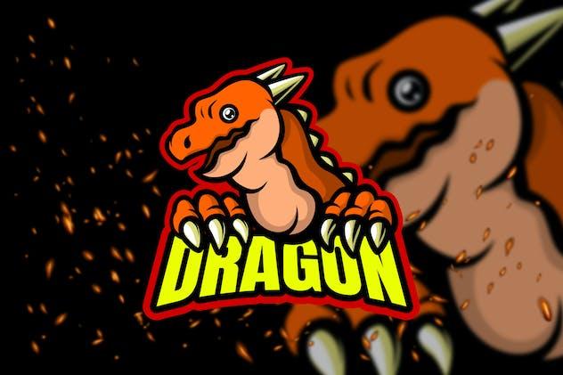 Little Dragon - Esport Logo Template