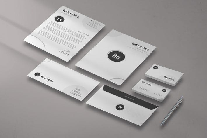 Thumbnail for Clean circle Stationery Pack