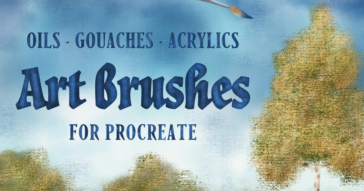 Download Art Brushes for Procreate by guerillacraft