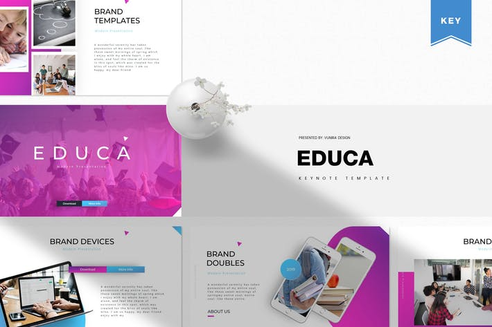 Cover Image For Educa | Keynote Vorlage