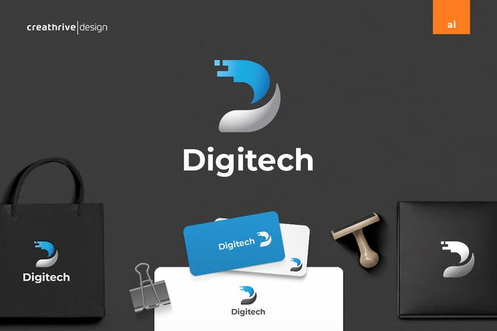 Thumbnail for Digitech Logo