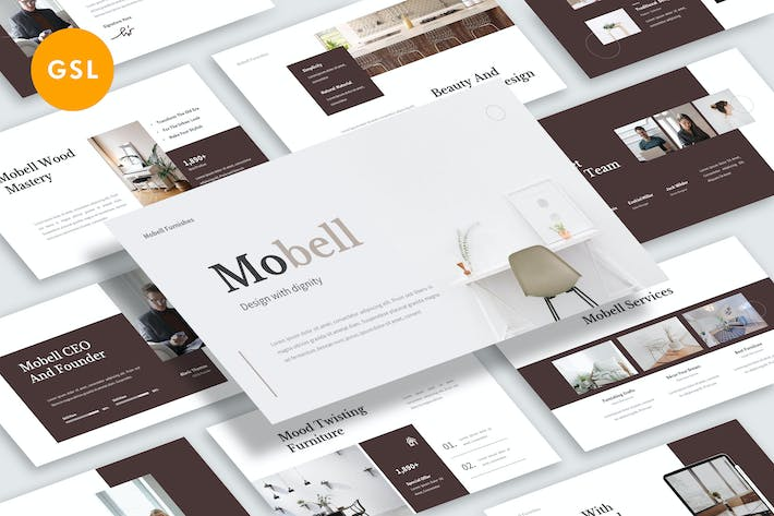 Thumbnail for Mobell Google Slide Template