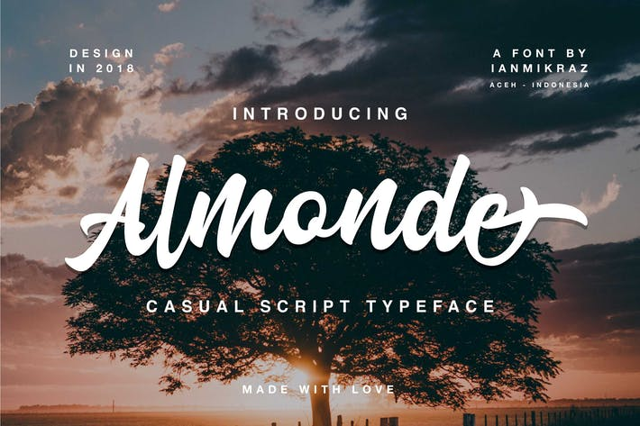 Thumbnail for Almonde Script