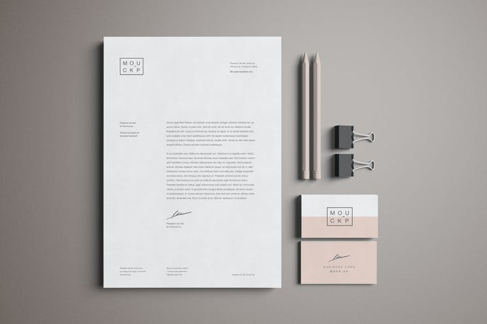 Thumbnail for Stationery Mockup