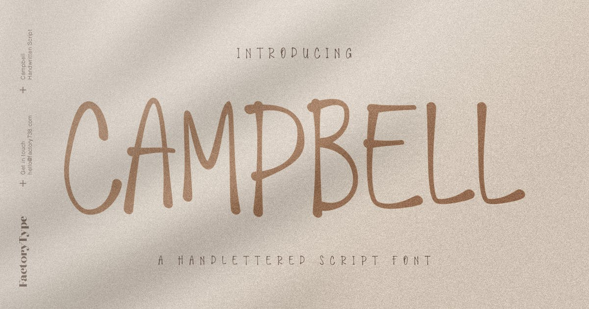 Download Campbell Script by factory738
