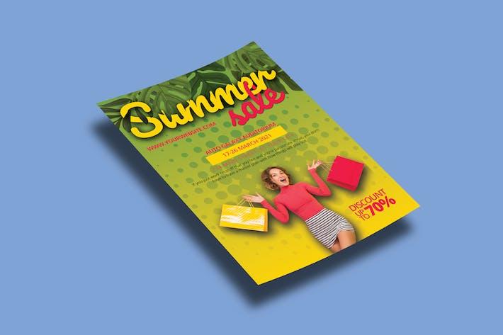 Summer Discount – Flyers Template