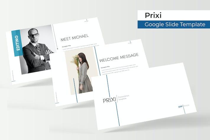 Thumbnail for Prixi - Plantilla de Presentación de Google
