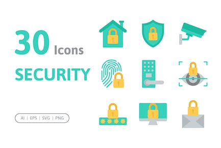 30 Security Icons